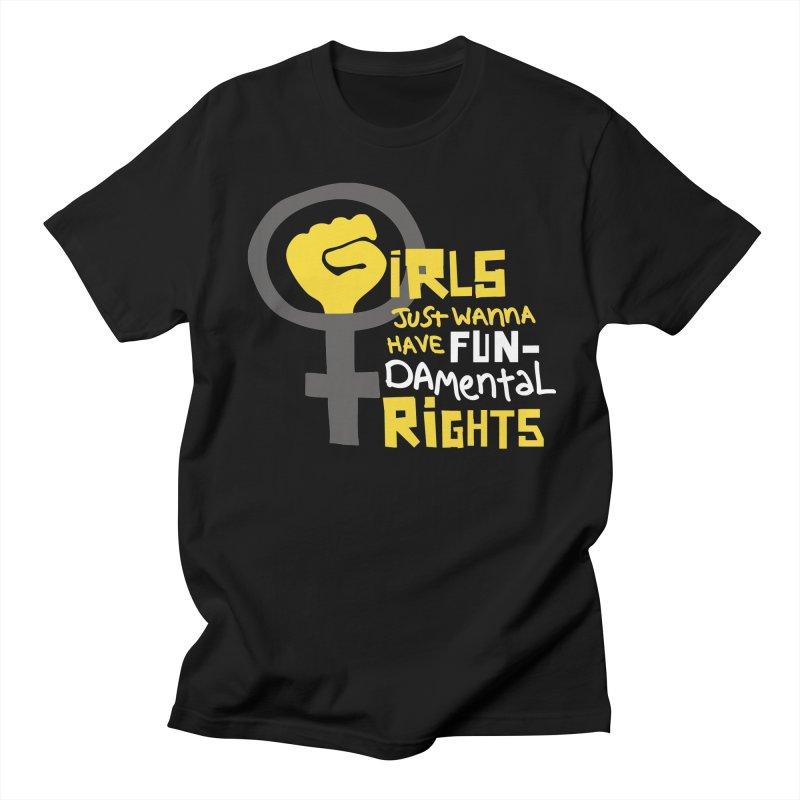 FUN-damental Rights Men's Regular T-Shirt by heidig's Shop