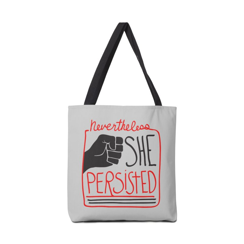 Nevertheless... Light Backgrounds Accessories Bag by heidig's Shop