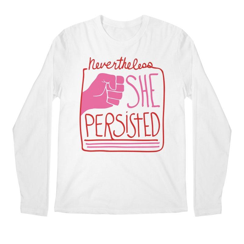 Nevertheless... RED & PINK Men's Regular Longsleeve T-Shirt by heidig's Shop