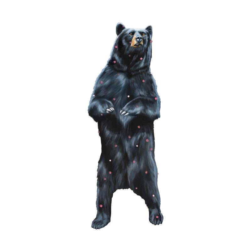 Black Bear Women's Longsleeve T-Shirt by Heiko Müller's Artist Shop