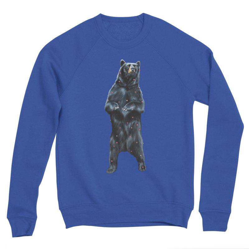 Black Bear Men's Sweatshirt by Heiko Müller's Artist Shop