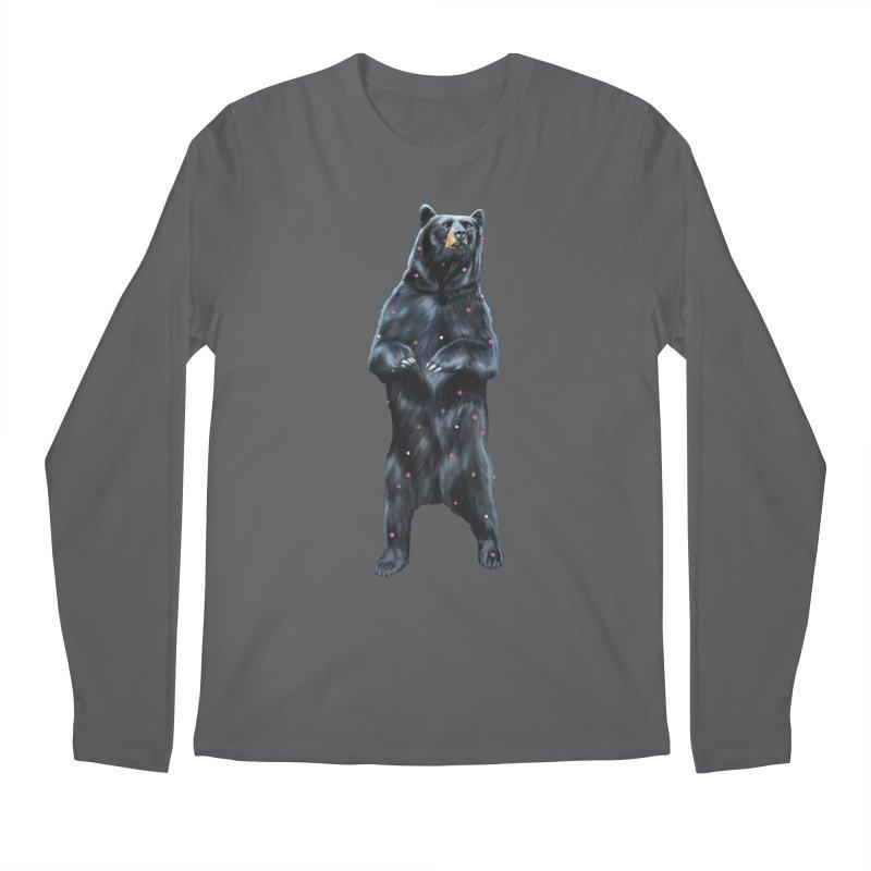 Black Bear Men's Longsleeve T-Shirt by Heiko Müller's Artist Shop