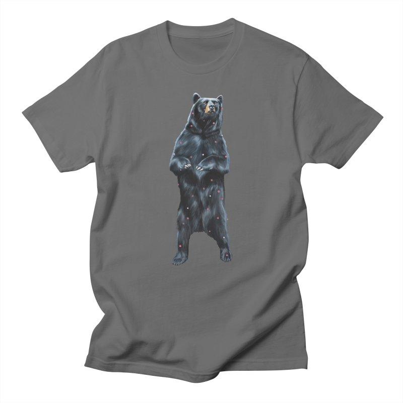 Black Bear Men's T-Shirt by Heiko Müller's Artist Shop