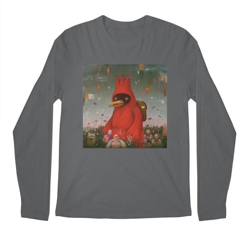 Winged Doom Men's Regular Longsleeve T-Shirt by Heiko Müller's Artist Shop