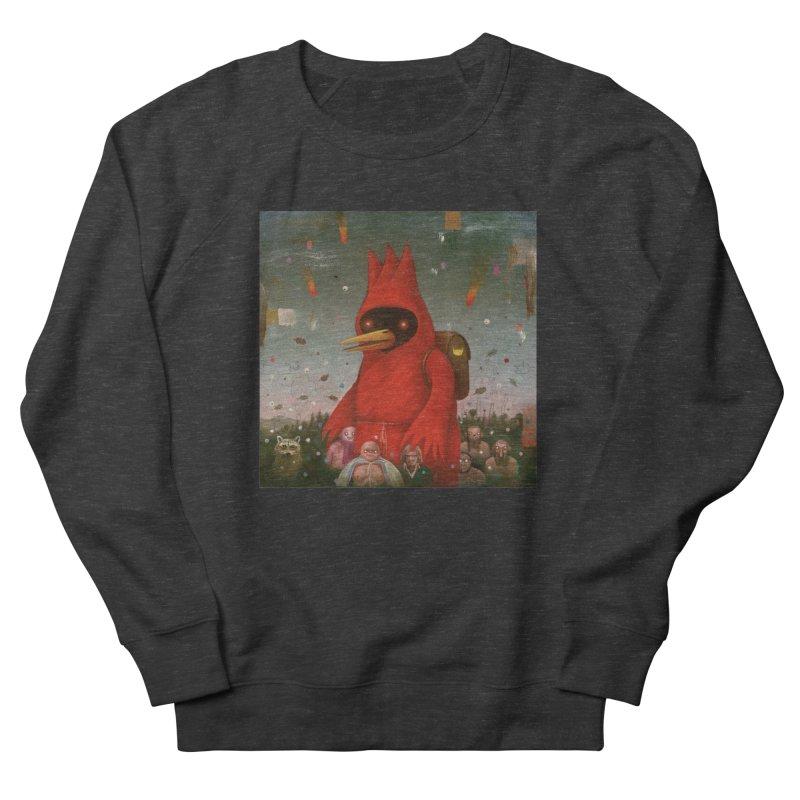 Winged Doom Women's French Terry Sweatshirt by Heiko Müller's Artist Shop
