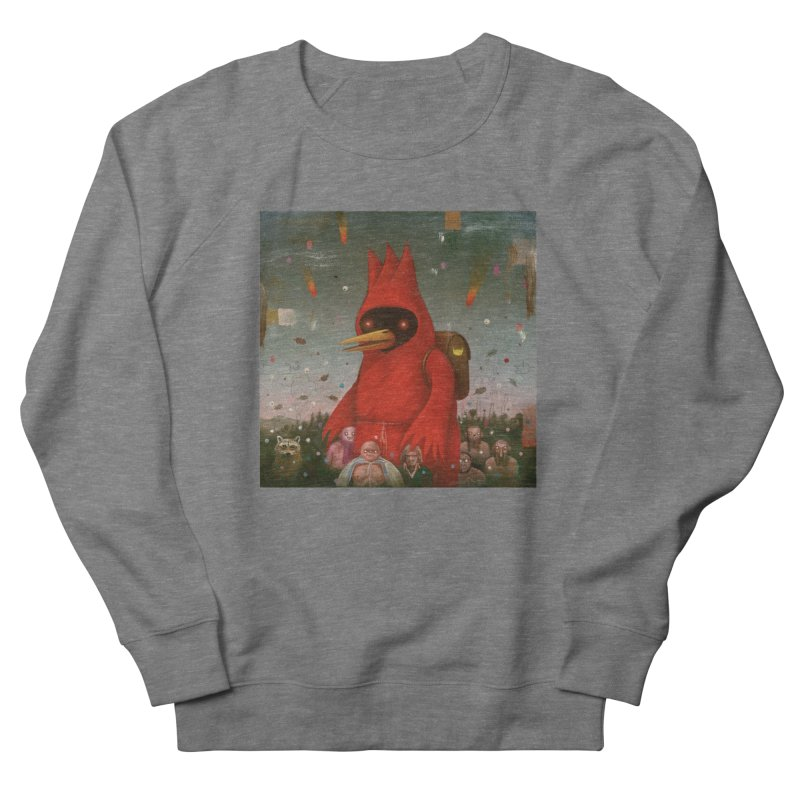 Winged Doom Women's French Terry Sweatshirt by Heiko Müller's Artist Shop