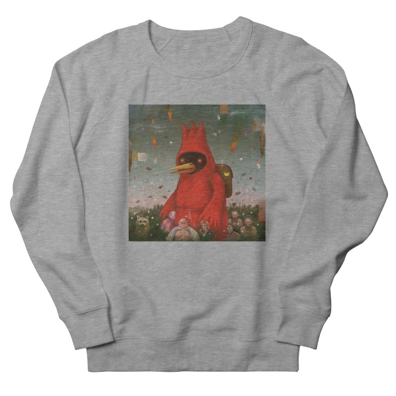 Winged Doom Women's Sweatshirt by Heiko Müller's Artist Shop