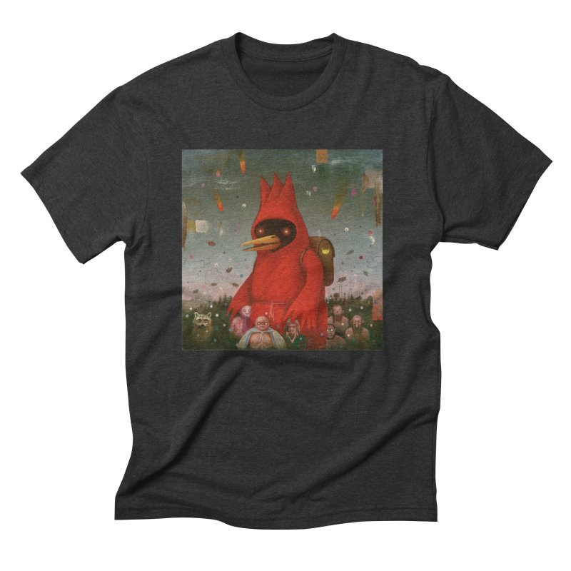 Winged Doom Men's Triblend T-Shirt by Heiko Müller's Artist Shop