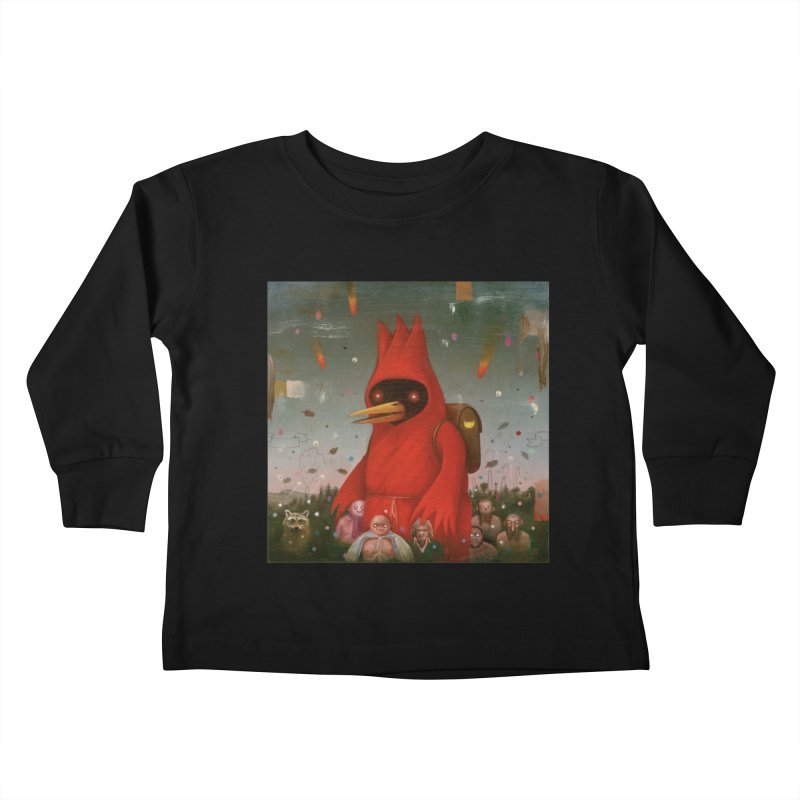Winged Doom Kids Toddler Longsleeve T-Shirt by Heiko Müller's Artist Shop