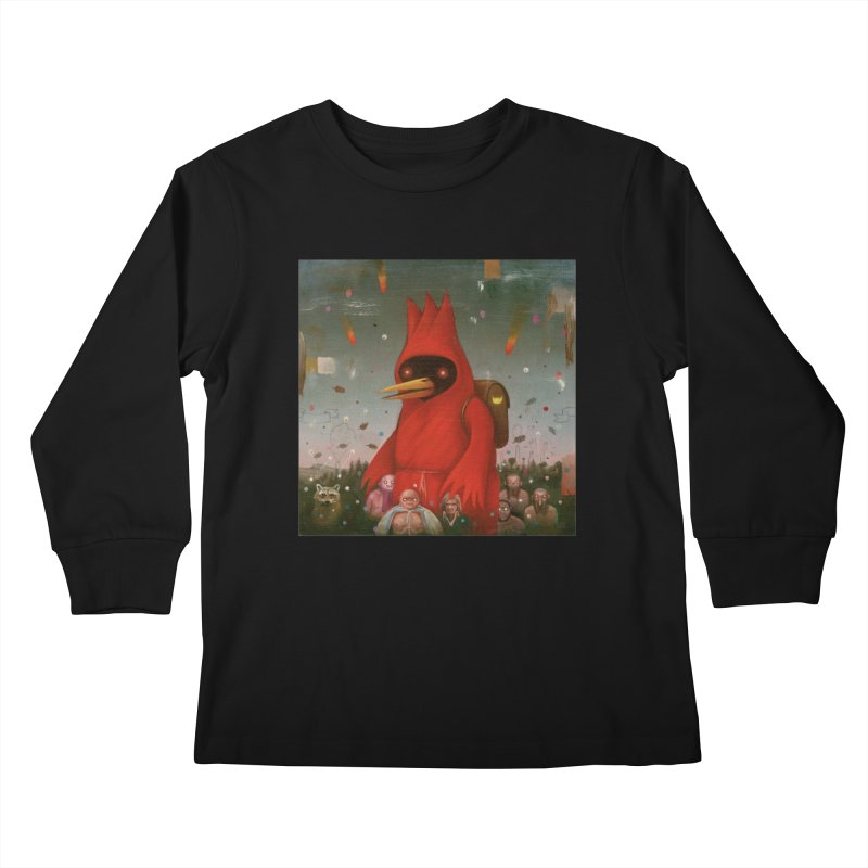 Winged Doom Kids Longsleeve T-Shirt by Heiko Müller's Artist Shop