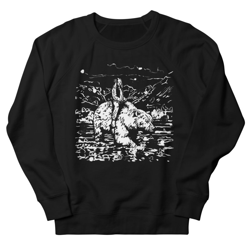 Bear Rider Men's Sweatshirt by Heiko Müller's Artist Shop