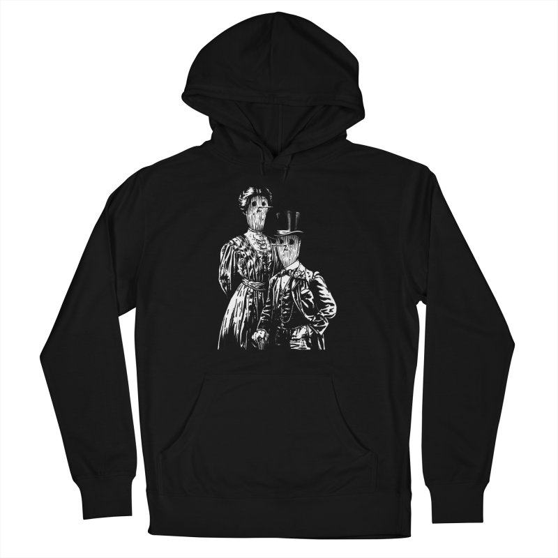 Fancy Couple Women's French Terry Pullover Hoody by Heiko Müller's Artist Shop