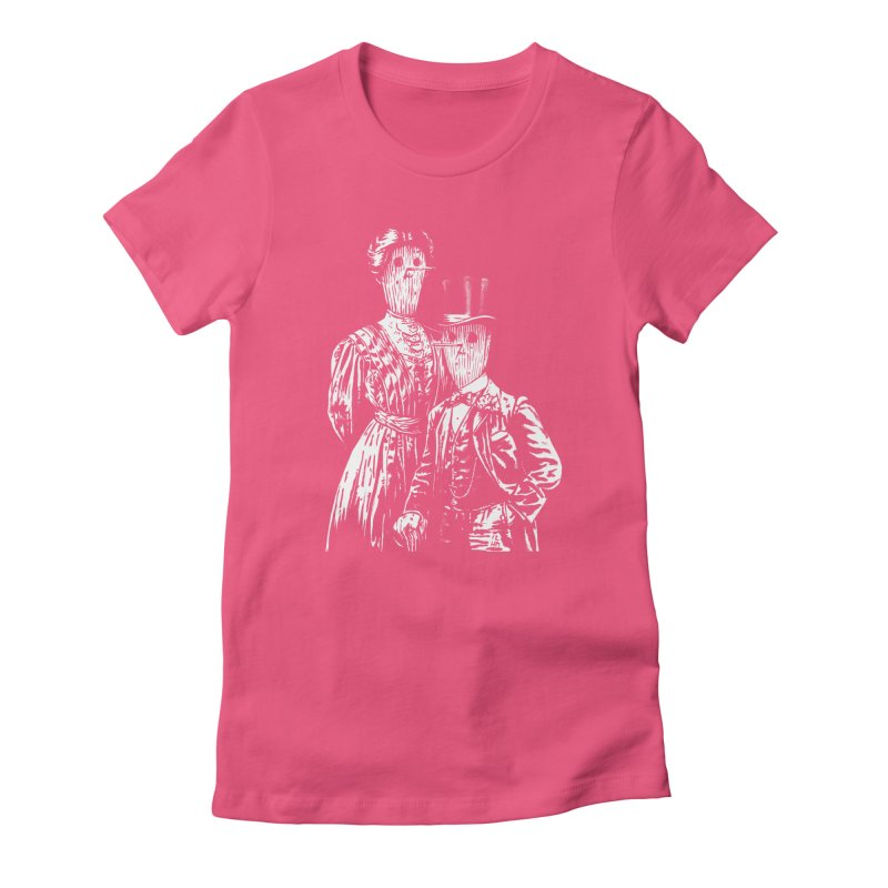 Fancy Couple Women's Fitted T-Shirt by Heiko Müller's Artist Shop