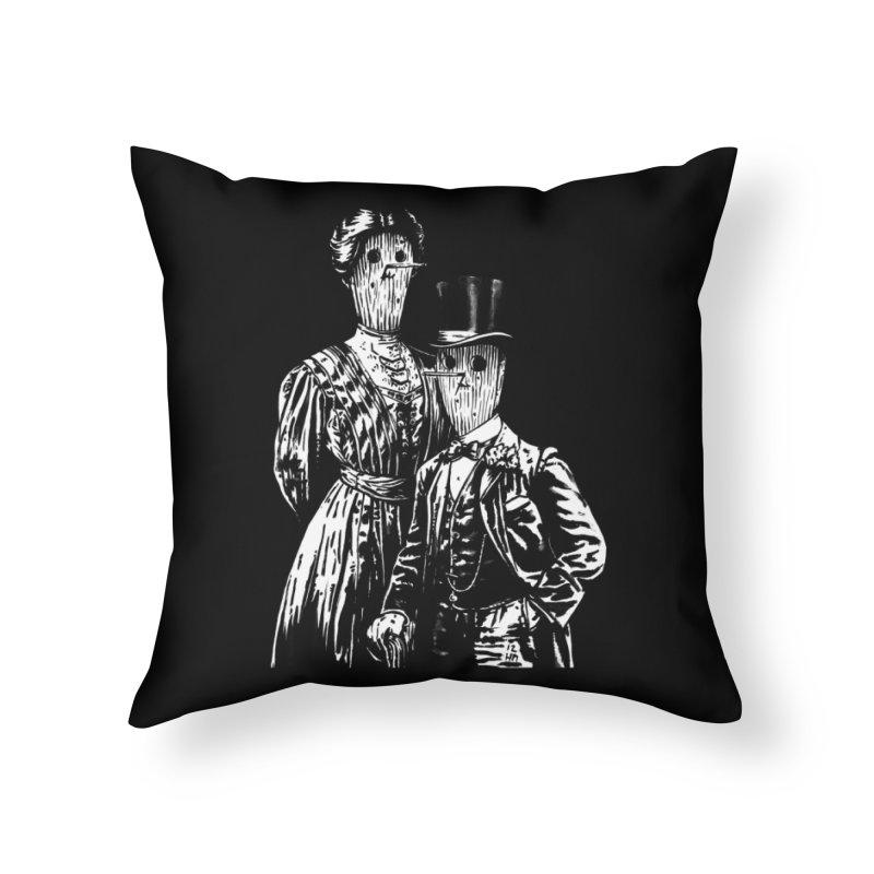 Fancy Couple Home Throw Pillow by Heiko Müller's Artist Shop