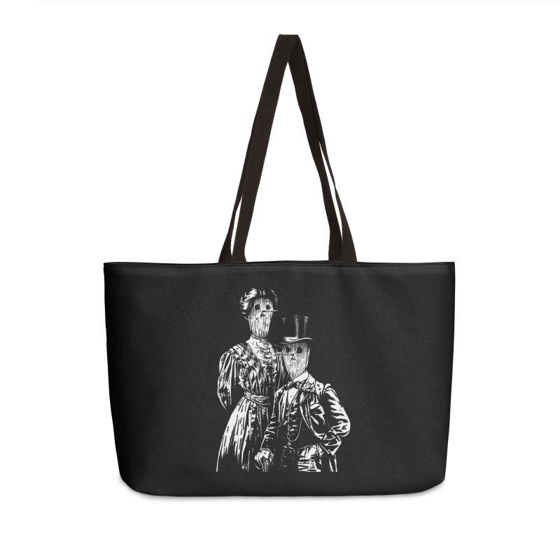 Fancy Couple Accessories Weekender Bag Bag by Heiko Müller's Artist Shop