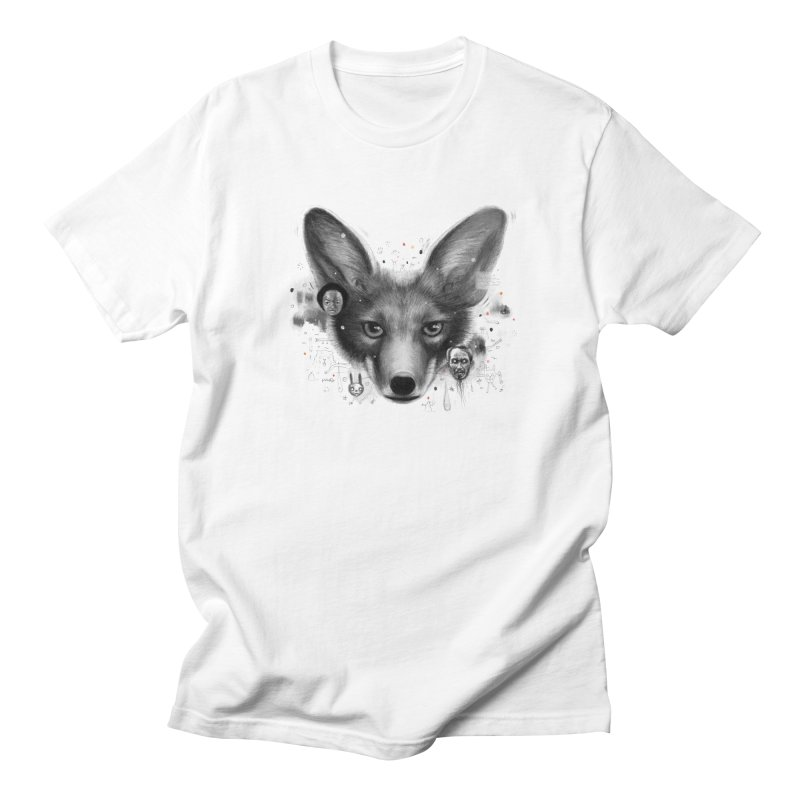 Little Fox Men's T-Shirt by Heiko Müller's Artist Shop