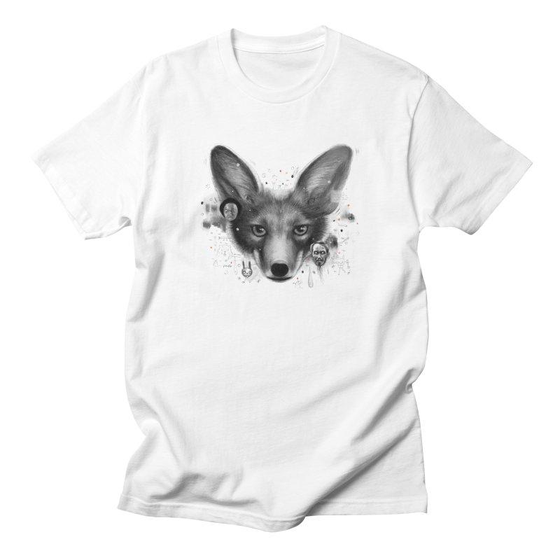 Little Fox Men's T-Shirt by Heiko Müller's Artist Shop