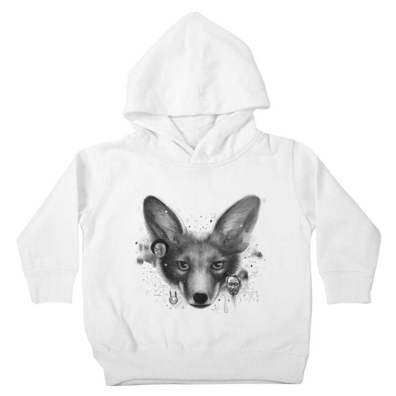 Little Fox Kids Toddler Pullover Hoody by Heiko Müller's Artist Shop