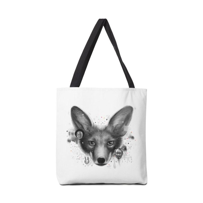 Little Fox Accessories Tote Bag Bag by Heiko Müller's Artist Shop