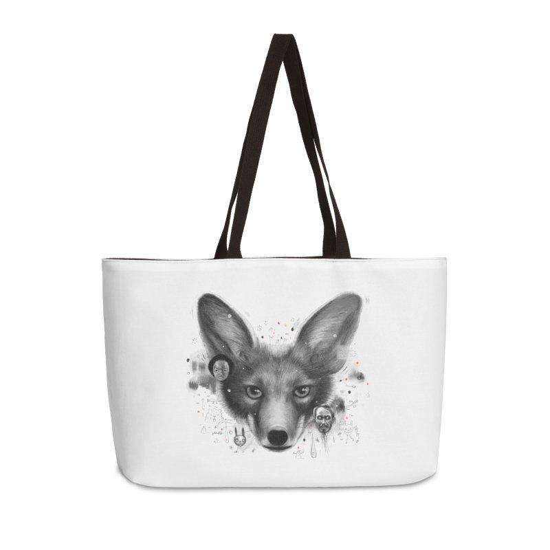 Little Fox Accessories Weekender Bag Bag by Heiko Müller's Artist Shop