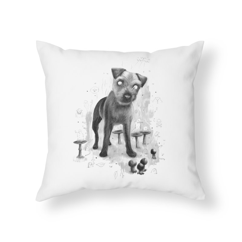 Charlie Home Throw Pillow by Heiko Müller's Artist Shop