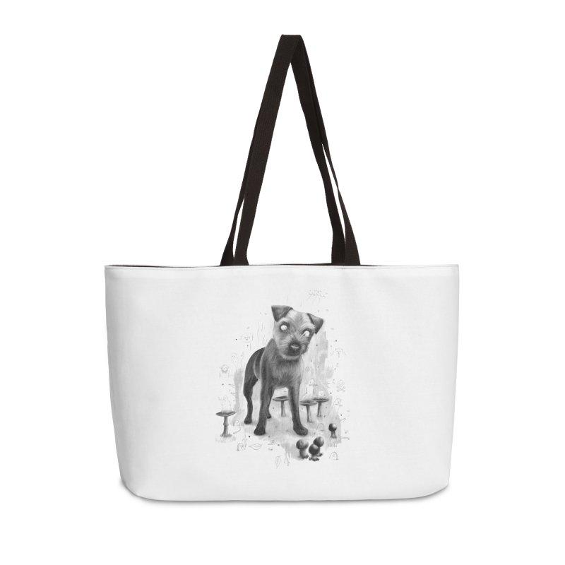 Charlie Accessories Weekender Bag Bag by Heiko Müller's Artist Shop