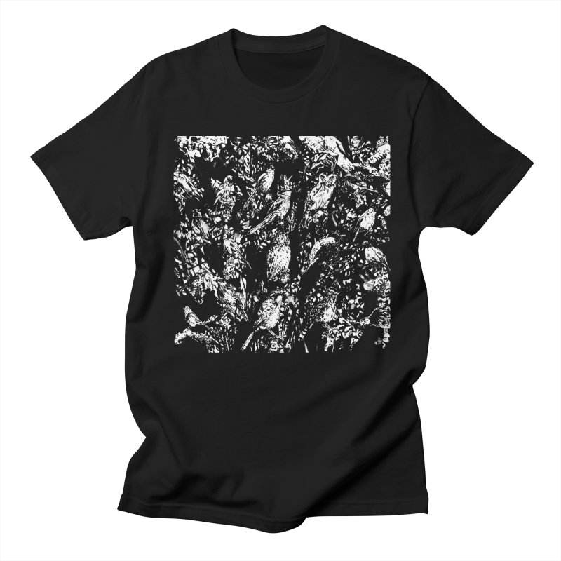 Birds Men's T-Shirt by Heiko Müller's Artist Shop