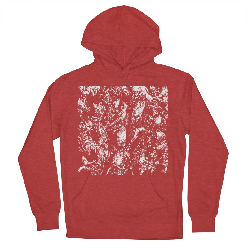 Birds Men's French Terry Pullover Hoody by Heiko Müller's Artist Shop