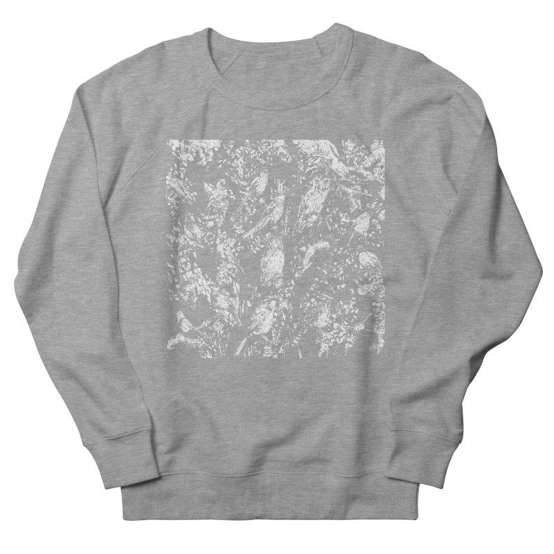Birds Women's French Terry Sweatshirt by Heiko Müller's Artist Shop