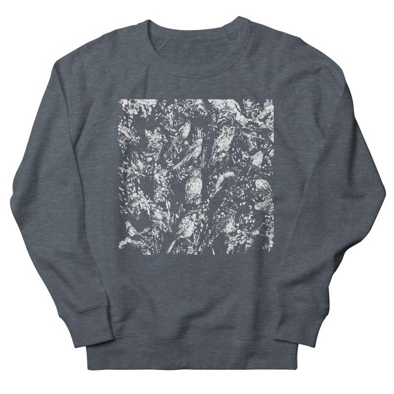 Birds Men's French Terry Sweatshirt by Heiko Müller's Artist Shop