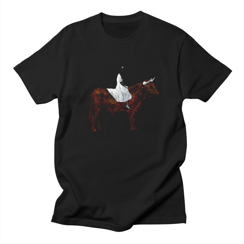 Bullrider Men's T-Shirt by Heiko Müller's Artist Shop