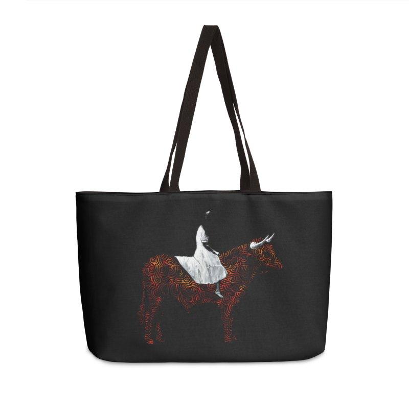 Bullrider Accessories Weekender Bag Bag by Heiko Müller's Artist Shop