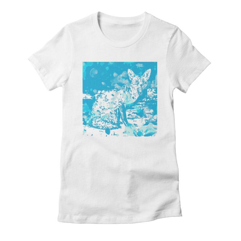 Guard Women's Fitted T-Shirt by Heiko Müller's Artist Shop
