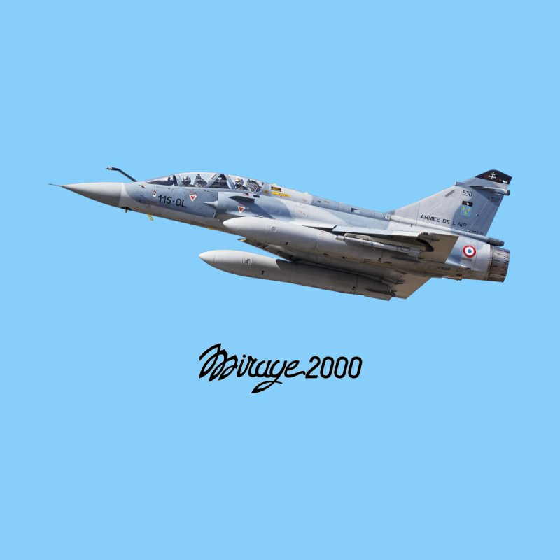 Dassault Mirage 2000D with official logo Women's T-Shirt by heilimo's Artist Shop