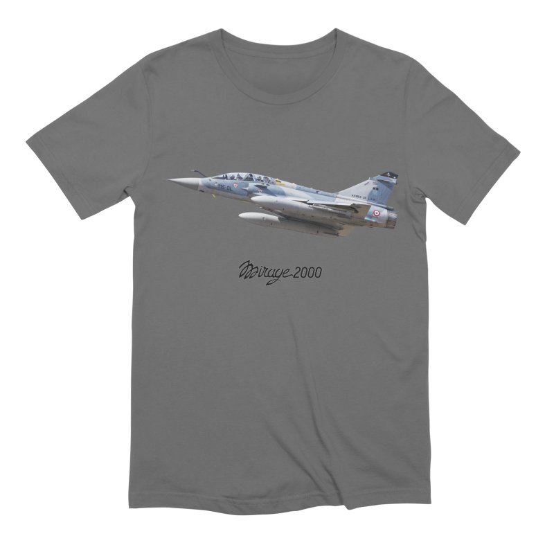 Dassault Mirage 2000D with official logo Men's T-Shirt by heilimo's Artist Shop