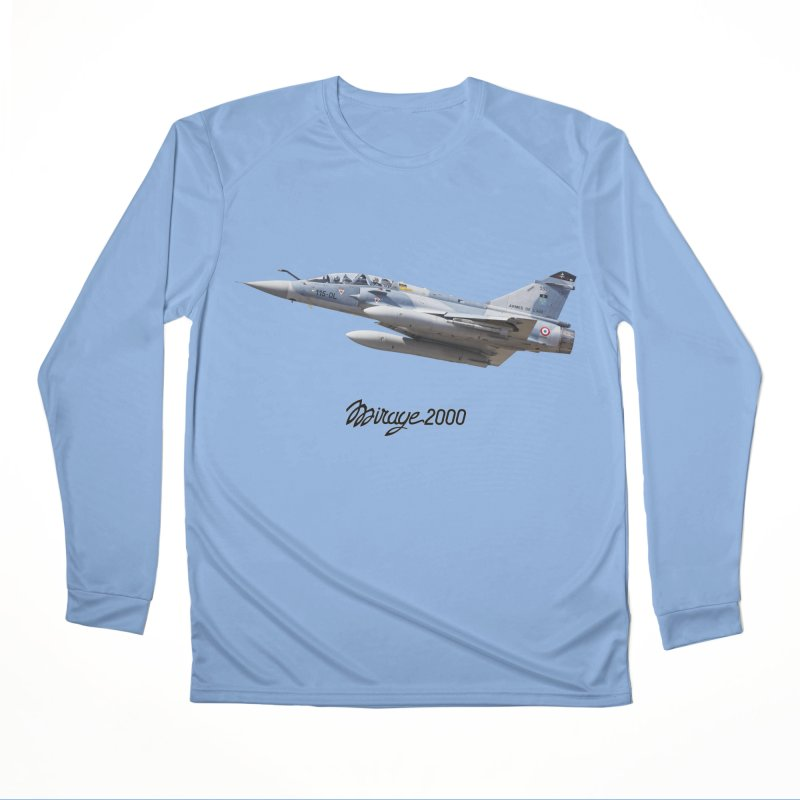 Dassault Mirage 2000D with official logo Men's Longsleeve T-Shirt by heilimo's Artist Shop