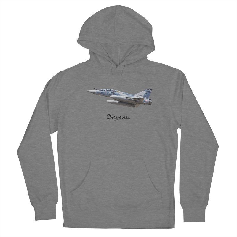 Dassault Mirage 2000D with official logo Women's Pullover Hoody by heilimo's Artist Shop