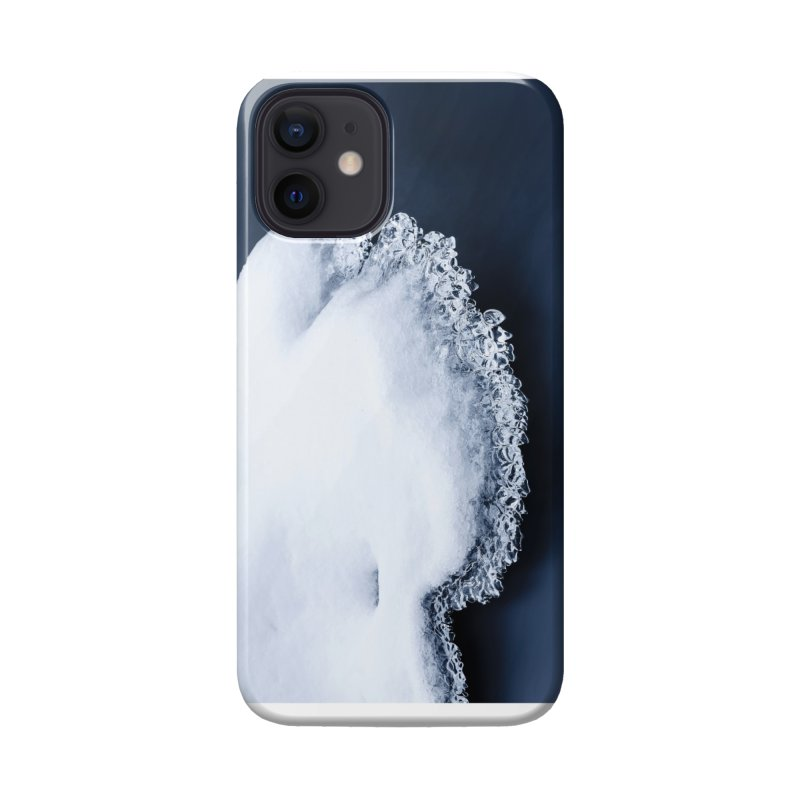 Ice, snow and moving water Accessories Phone Case by heilimo's Artist Shop