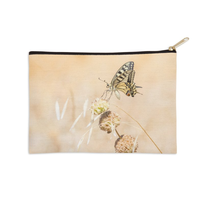 Fragile beauty of swallowtail butterfly Accessories Zip Pouch by heilimo's Artist Shop