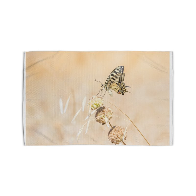 Fragile beauty of swallowtail butterfly Home Rug by heilimo's Artist Shop