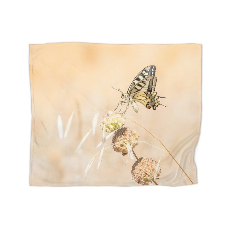 Fragile beauty of swallowtail butterfly Home Blanket by heilimo's Artist Shop