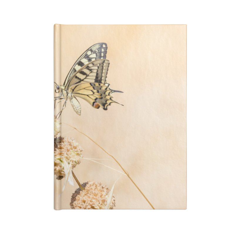 Fragile beauty of swallowtail butterfly Accessories Notebook by heilimo's Artist Shop