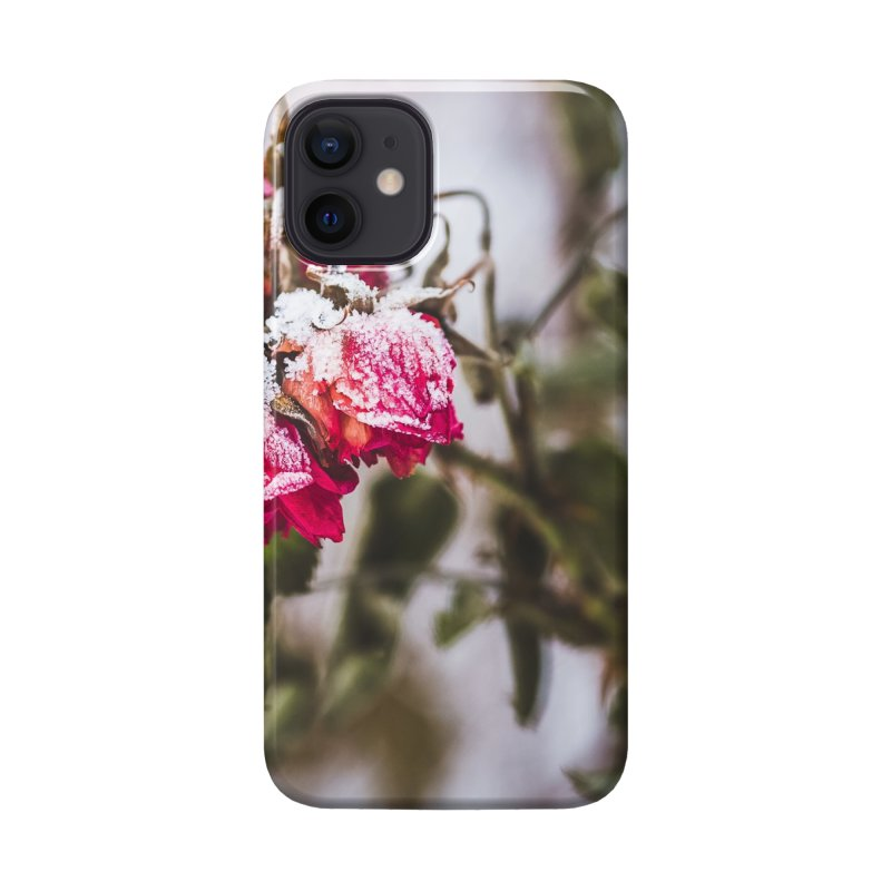 Frozen red roses Accessories Phone Case by heilimo's Artist Shop