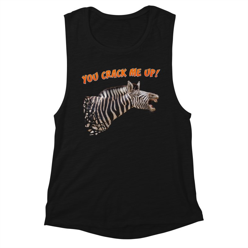 You crack me up! Women's Tank by heilimo's Artist Shop