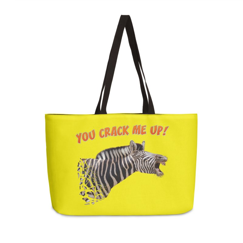 You crack me up! Accessories Bag by heilimo's Artist Shop