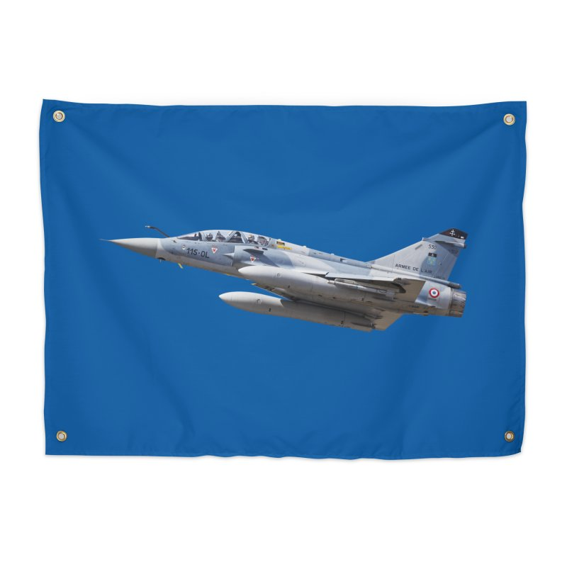 Dassault Mirage 2000D (cutout) Home Tapestry by heilimo's Artist Shop