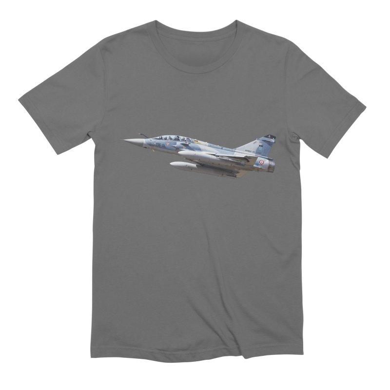 Dassault Mirage 2000D (cutout) Men's T-Shirt by heilimo's Artist Shop