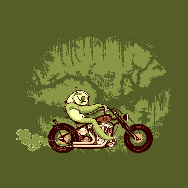 sloth racer by Heldenstuff