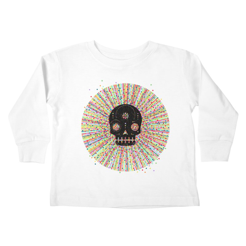 Sugar Deady Rush Kids Toddler Longsleeve T-Shirt by Heldenstuff