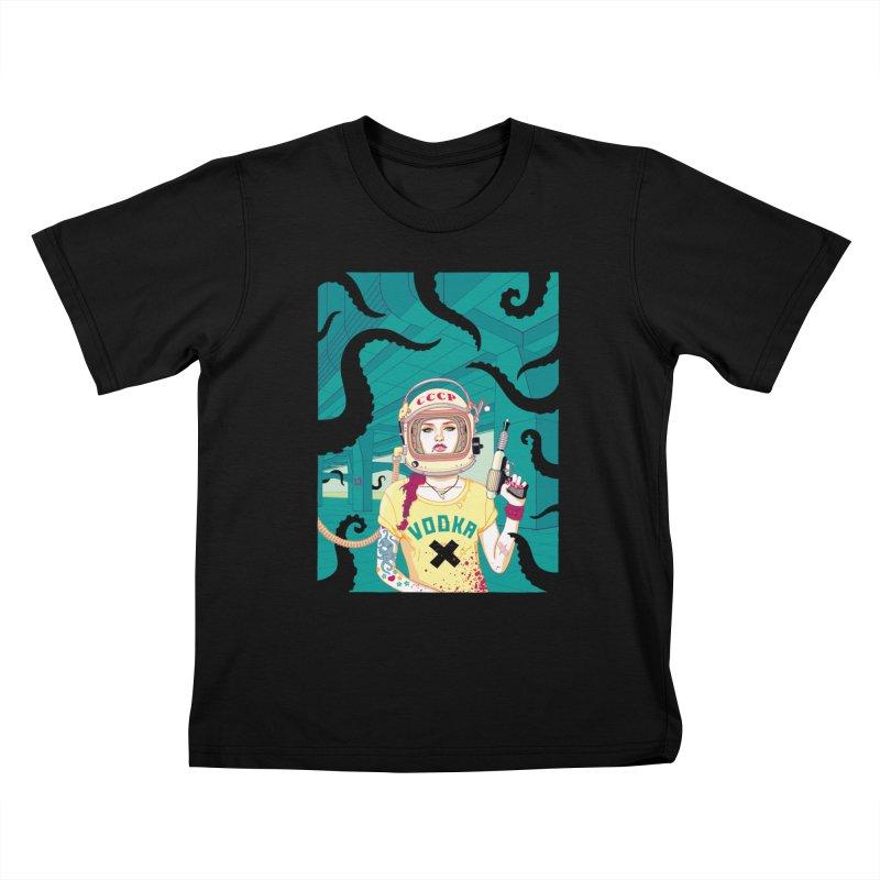 Hangar 13 Kids T-Shirt by Heldenstuff